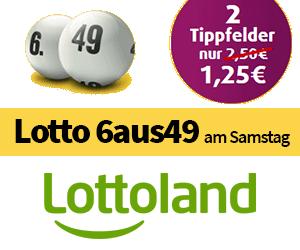 Angebot Lottoland 6aus49