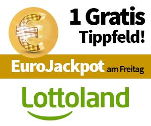 Lottoland Angebot Eurojackpot 1 Tippfeld gratis
